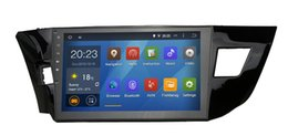 Wholesale Car quot Quad Core Android GPS for Toyota Corolla CPU G RAM G iNAND G multimedia Stereo nav Wifi BT