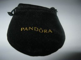 Wholesale New Style Jewelry Pouches Original Jewelry Packaging Bags Black Velvet Pouches