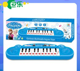 Wholesale Musical Instruments Cartoon Frozen Kids Toy Frozen girl Cartoon Electronic Organ Toy Keyboard Electronic Baby Piano with Music Songs