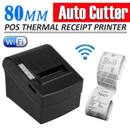 Wholesale Wireless WIFI mm POS Printer mm s Auto Cutter Thermal Dot Receipt Printer DHL EMS pos system