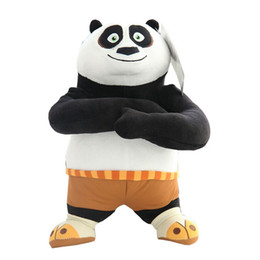 Wholesale new cm Genuine authority Kung Fu Panda Plush Stuffed Toys Baby Dolls Cartoon Animal Toys for Child Birthday Gift