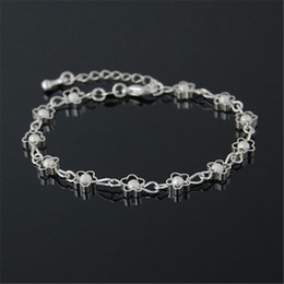 Free shipping Wholesale 2017 New Jewelry 925 Sterling Silver Bracelet Fashion Bracelets for women Pulseras BG005