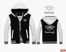 Wholesale Diamond supply co men sweatshirt winter and autumn hip hop hoodie twenty choices thick casual pullover moleton masculine