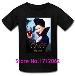 Custom Once Upon a Time Evil Queen Men's Cotton T-Shirt Classic Short Sleeve Size M-3XL Tshirt