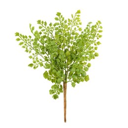 Wholesale New Hight Quality Lovely Gingko Biloba Fake Artificial Plant Floral Leave Foliage Office Decoration