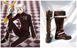 Wholesale Limited Freeshipping Pu Botas Femininas Boots D Gray man Allen Walker New Version Cosplay Costume Boots Boot Shoes Shoe
