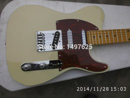 Wholesale-Free shipping Wholesale new fen tl custom electric guitar light yellow coloe  guitar in china