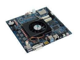 Wholesale M433 ITX HCMT3X21A AMD Kabini Embedded Motherboard COM SATA USB3 USB2 GPIO Mini PCIE SD Slot V DC powersupply DDR3