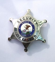 Wholesale The American security department officer insignia badge Civil Service Badge