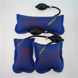 Wholesale new KLOM air wedge pump wedge inflatable unlock vehicle door tool Blue S M L