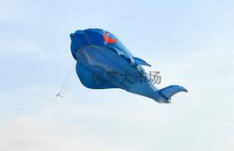 Wholesale SALE HOT M D HUGE Parafoil Whale Kite Amazing Gift
