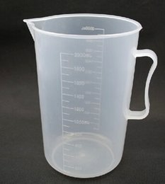 Wholesale Temperature acid food grade PP plastic measuring cup ml transparent graduated high caliber CM