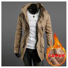 New Assassin's Creed style Slim Long cashmere coat warm winter coat black M-XXL free shipping