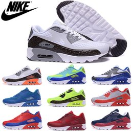 Wholesale Nike Air Max HYP PRM Independence Day Mens Running Shoes Cheap Original Quality Air max90 Maxes airmax90 For Mens Shoes Sneakers