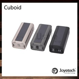 Wholesale Joyetech Cuboid W TC VW Box Mod Support SS316 Coils Best Match Cubis Atomizer Original