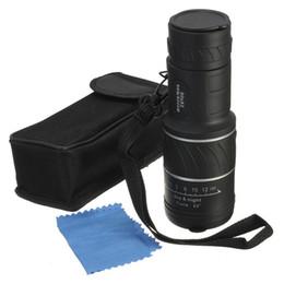 Compra Online Lente de enfoque dual-Alta calidad Mini 30x52 Dual para Focus Óptica Lente Día Night Vision Armoring Viaje Monocular Telescopio Turismo Alcance Binoculares