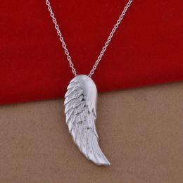 Anges ailes à vendre-925 collier en argent sterling version coréenne de l'ange populaires ange collier de bijoux commerce de gros gros spot