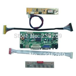 Wholesale M NT68676 A HDMI DVI VGA AUDIO LCD Controller Board Kit for LP154W01 TL D3 LCD panel