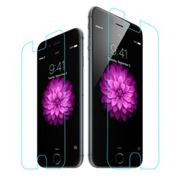 Free DHL 0.33m 2.5D 9H Anti Fingerprint Scratch Explosion Shatter Proof Tempered Glass Screen Protector Guard 4.7 5.5 inch iPhone 6 iPhone6