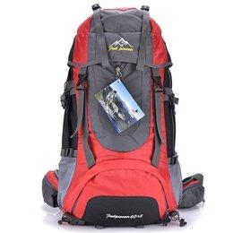 6 colors 60L waterproof travel backpack outdoor camping men professional climbing bags hiking sport ski bag men's backpacks