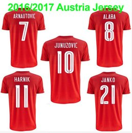 Wholesale Austria Soccer Jersey ALABA JANKO Austria Jersey ARNAUTOVIC Jersey Best Quality HARNIK Football Shirt OKOTIE Shirts
