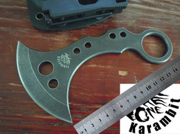 free shipping!hot sale the one fixed karambit knife,strider fixed hunting survival knives,microtech knives,karambit knives