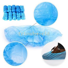 Wholesale Elastic Disposable Plastic Shoe Resists Water Dirt and Mud Covers Protective Shoe Covers Carpet And Floors