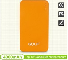 Wholesale hot selling high quality ultra slim promotional mah power bank charger with Li polymer battery