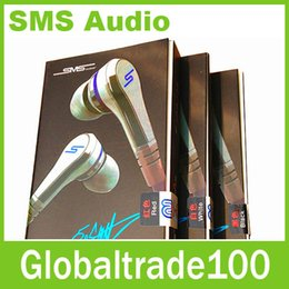 Wholesale HOT Seller Mini SMS Audio Cent In Ear Earphones Headphones With Mic For Mp3 Mp4 Cell phone tablet pc