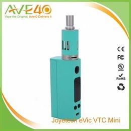 Promotion gros joyetech Vente en gros 100% Original Joyetech EVICT VTC Mini noir contrôle de la température de cyan blanc Capacité 510 fil 4,0 ml