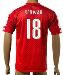 Wholesale Thai Quality Customized new season Austria home SCHWAB Soccer Jerseys mens Athletic Outdoor Cheap WIMMER JANKO JANKO wear