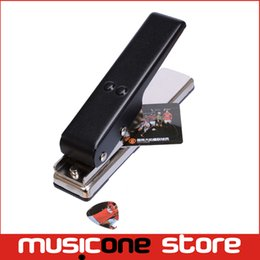 New And Hot sale Plectrum Cutter Make Your Own Picks Guitar Pick Maker Free shipping MU0493