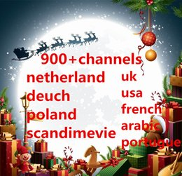Wholesale 950 Channels Free Sports Canal French PORTURLAD Spanish Arabic Greece Netherland Portugal IPTV apk