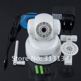 1set White Wireless WiFi IP network connection Webcam CMOS Camera Night Vision 11 LEDYKS