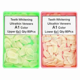 Wholesale Dental Composite Resin Ultrathin Veneers Upper Lower Anterior Tooth A1 Color Restorative Teeth Whitening Dentist Materials