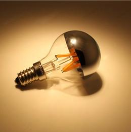 LED g45 shadowless bulb filament light bulbs E27 E14 4W edison vintage retro bulb AC85-265V warm white cool white