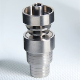 4-in-1 Titanium Nail1 4mm 18mm Male Female Highly Educated Nail and Carb Cap Factory Directly Selling