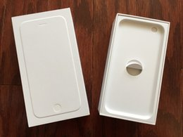 Wholesale Empty Boxes with inserts for iPhone s Plus s c s Physical stock fast Shipping