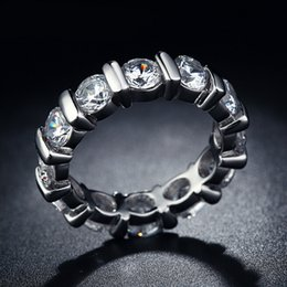 Wholesale 925 New Hot sterling silver Rings For Women simulate diamond vintage jewelry Party Bague Bijouterie MSR051