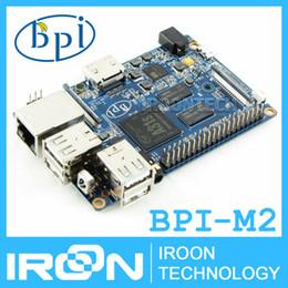 Wholesale Original BPI M2 BananaPi M2 A31S Quad Core GB RAM on board WiFi Open source development board SBC dB WiFi Antenna is included