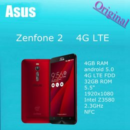 Wholesale ASUS Zenfone ZE551ML GB RAM android mobile phone G G G G G G G G quot x1080 Intel Z3560 Z3580 GHz NFC