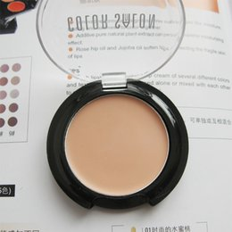 Wholesale-Professional foundation cream foundation cream concealer cream ivory white skin shallow color concealer small-sample