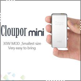 Wholesale Cloupor Mini Mod W W Original Mod Mechanical VV VW Mod E Cigarette Cloupor Mini W Box Mod fit Battery DHL Free