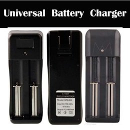 Wholesale Dual Slots Universal Charger for Rechargeable Li ion Battery Charger For Battery factory price via DHL yiquan