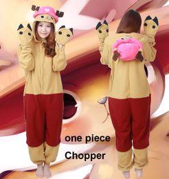 Wholesale Cosplay Chopper Pajamas Hooded Conjoined Sleepwear Costumes Adult Unisex Onesie Soft Sleepwear CC32