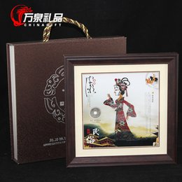 Wholesale Numismatic coins genuine gift book collections of decorative painting business conference gifts crafts ornaments shadow