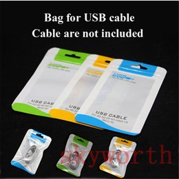 Flat braided cable bag Plastic Zipper poly bag Retail package For Iphone 6 plus Samsung s6 s5 note 4 flat braided USB cable