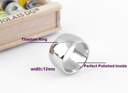 Fashion Jewelry,12mm Width Stainless Steel Ring,Big Fashion Titanium Steel Ring,Wholesale Jewelry Supplier WTR04