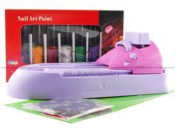 Wholesale-Hot sale DIY Nail Printer Colour Printer Printing Stamp Machine