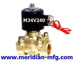 Wholesale 3 quot Electric Solenoid Valve VAC Air Water
